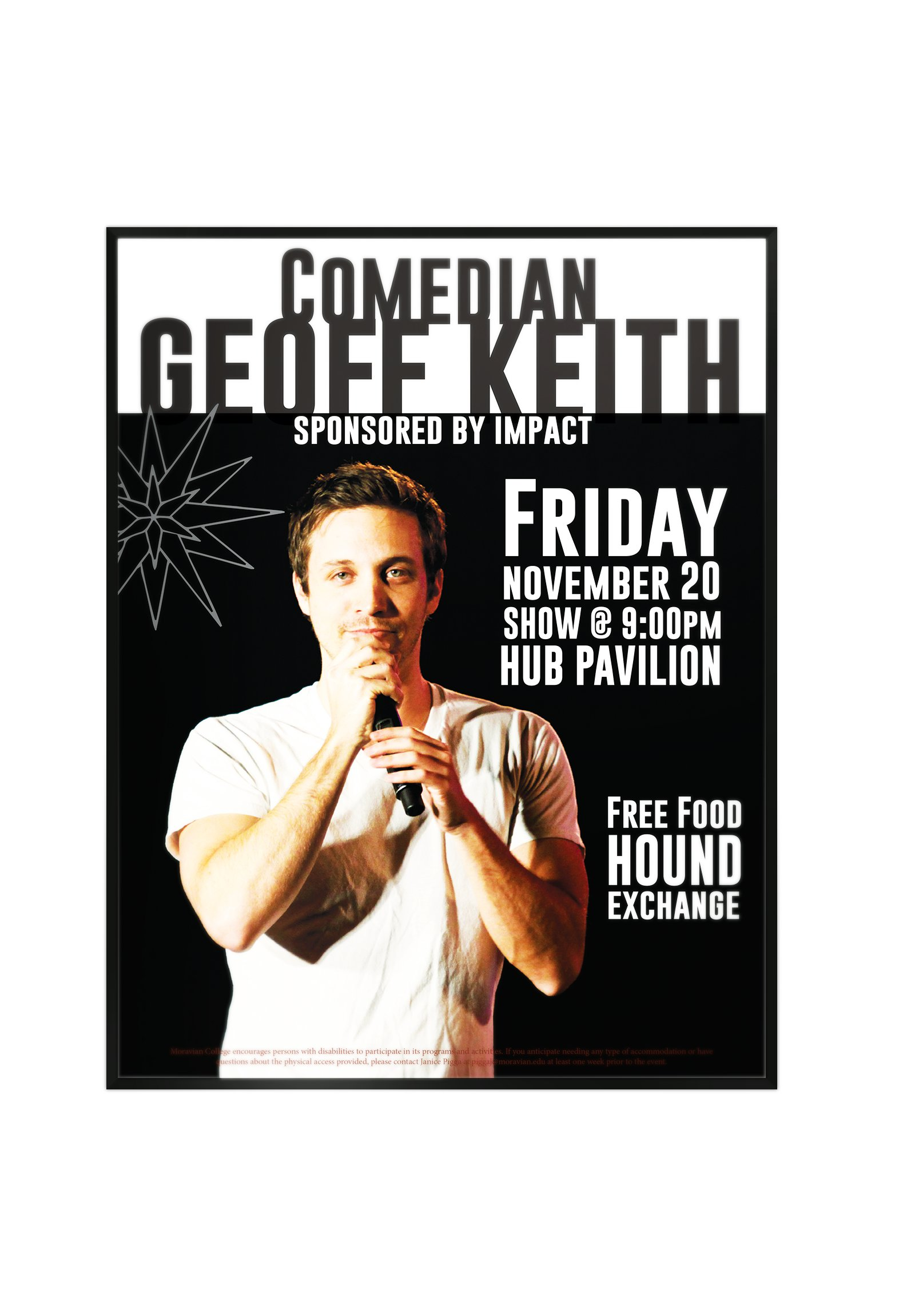 Comedian Geoff Keith Promotion