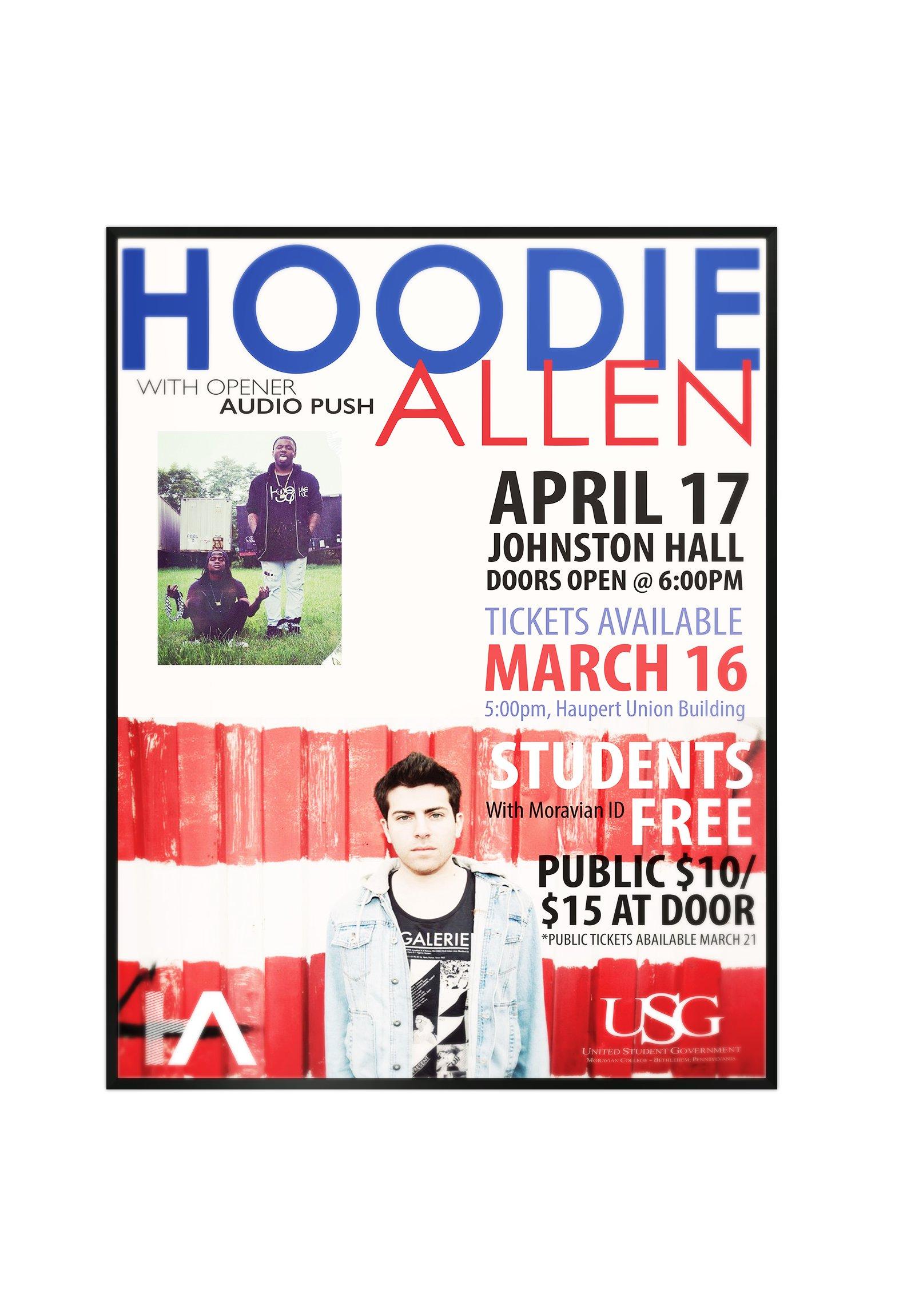 Hoodie Allen Promotion