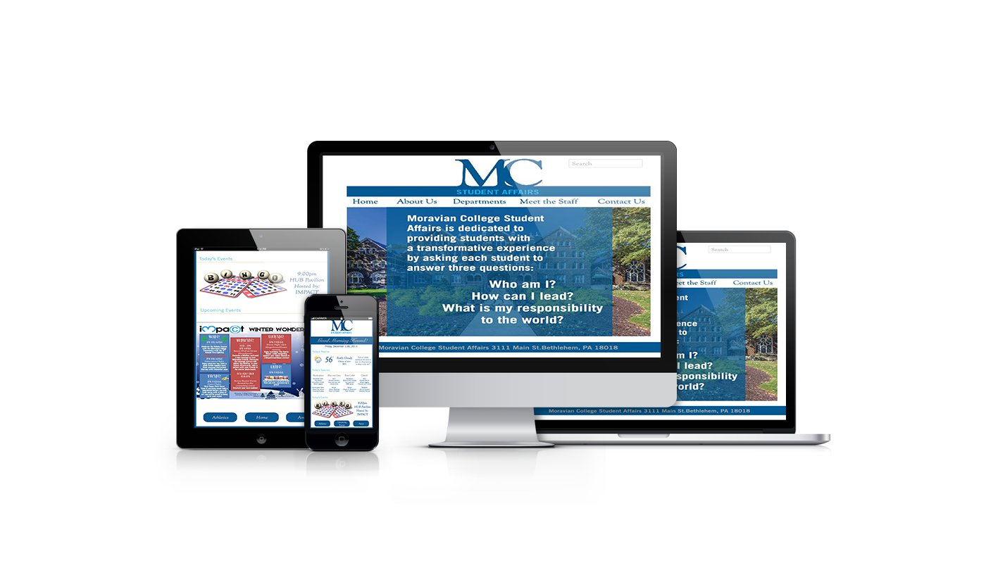 Moravian College Student Affairs Branding Project