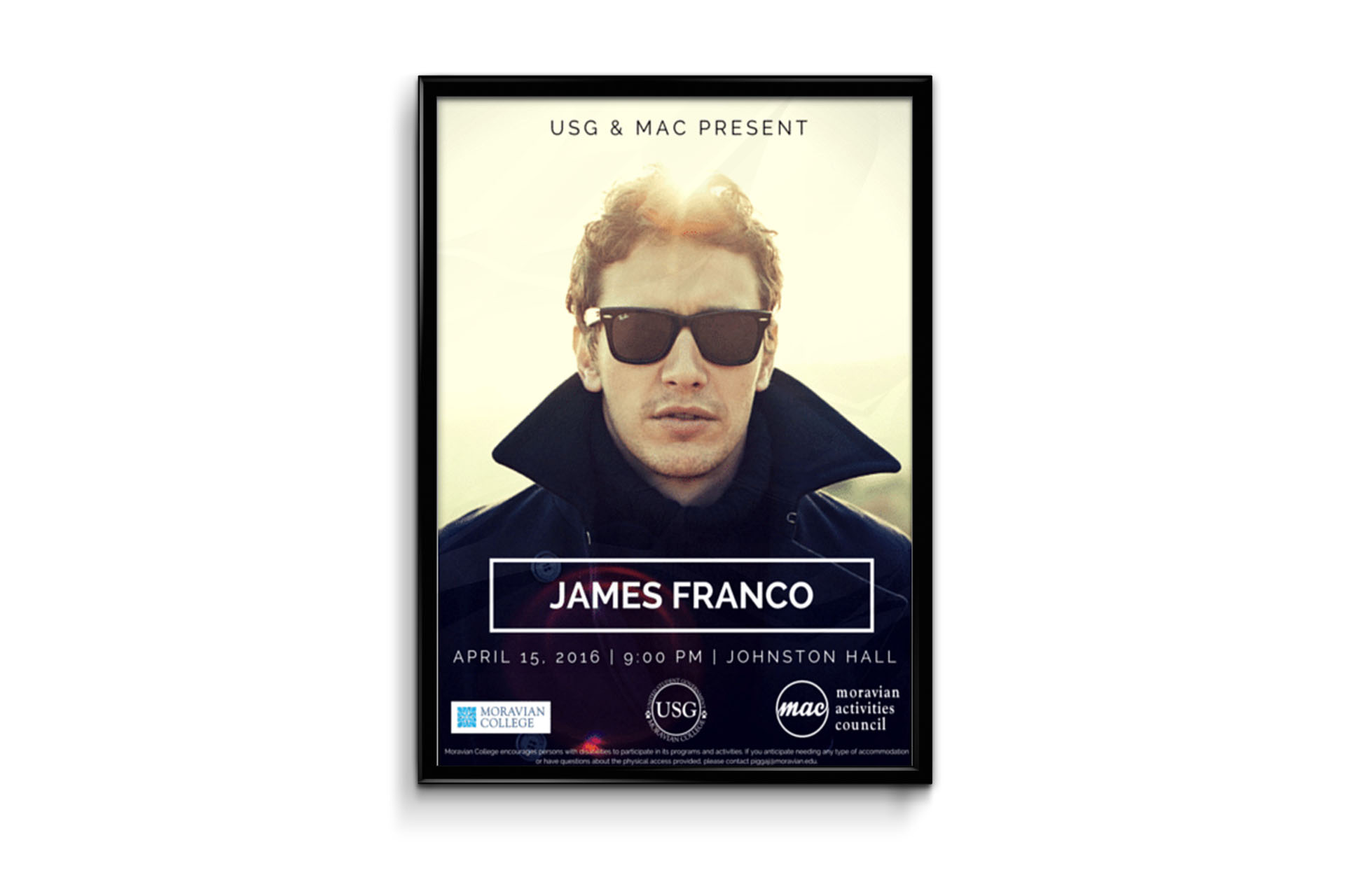 James Franco Poster