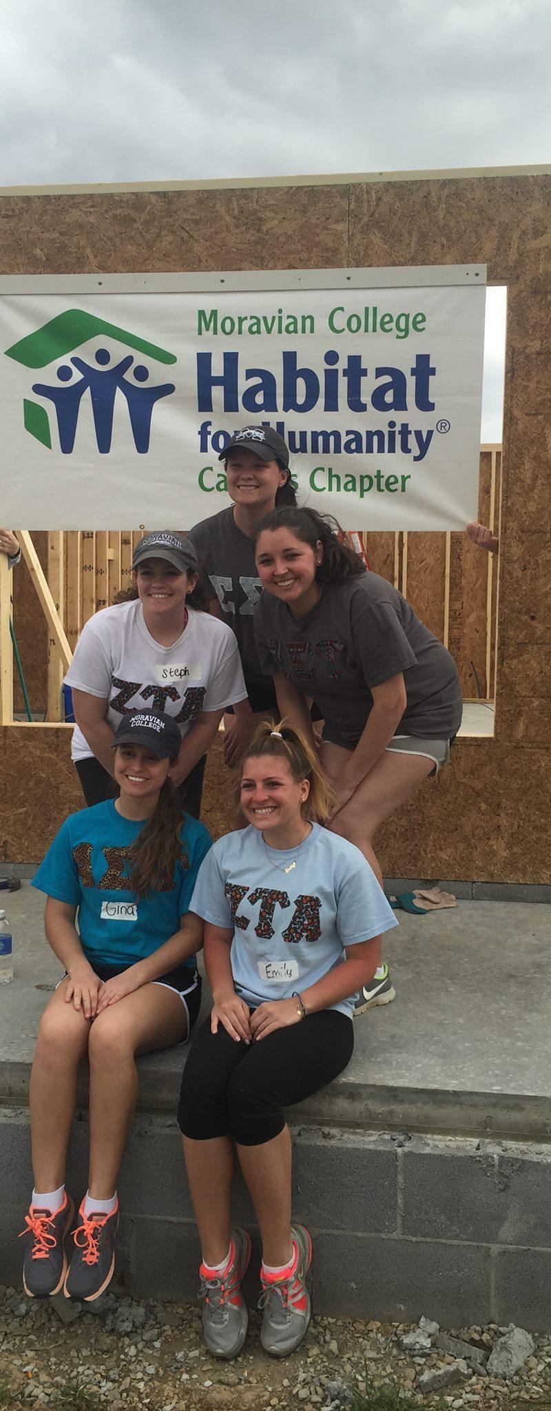 Habitat for Humanity Alternative Spring Break Team Leader – Decatur, Alabama