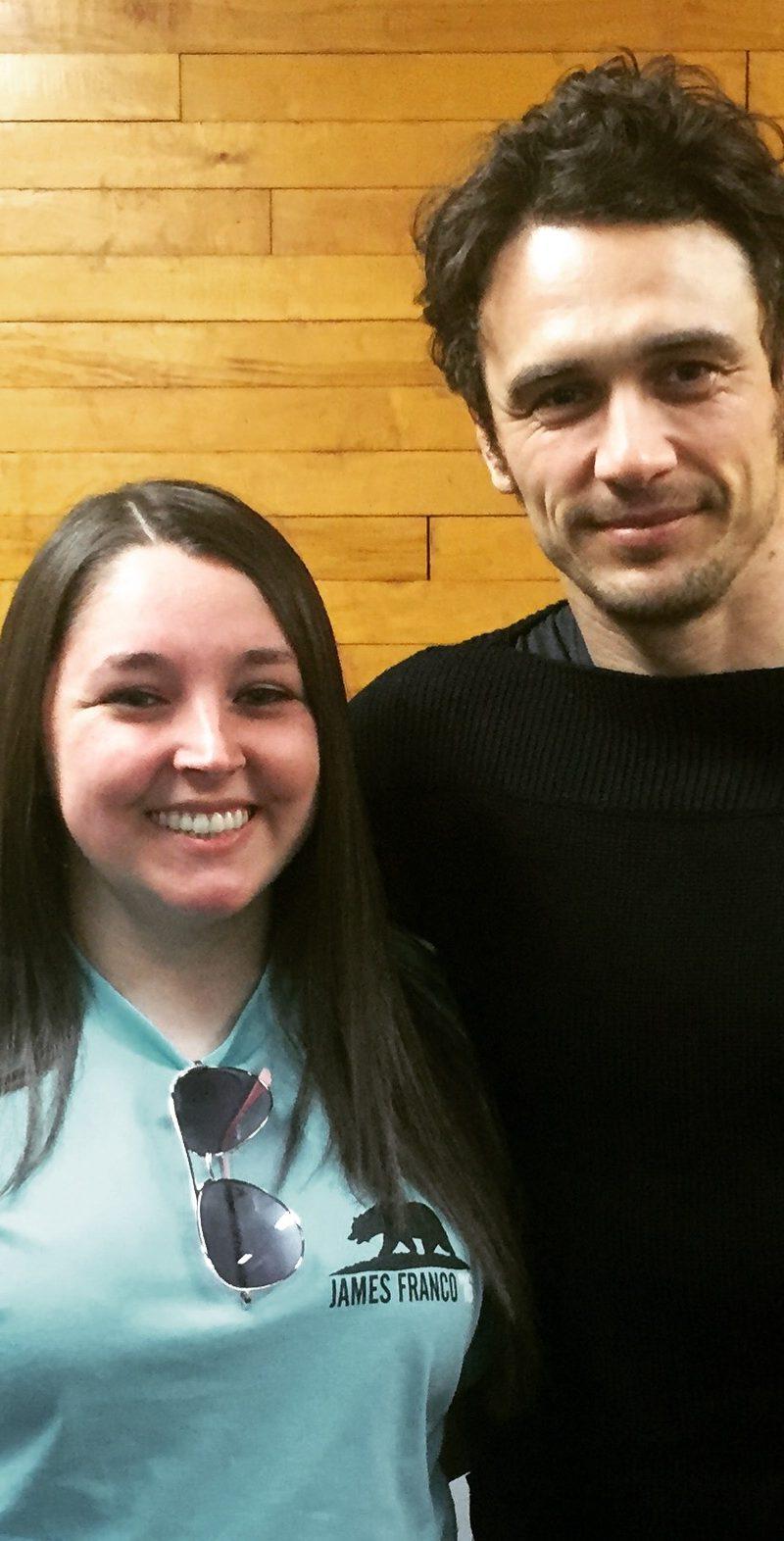 I met James Franco!