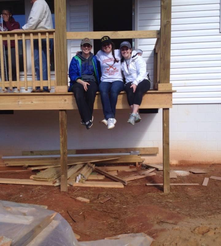 Habitat for Humanity Alternative Spring Break – Clemson, SC