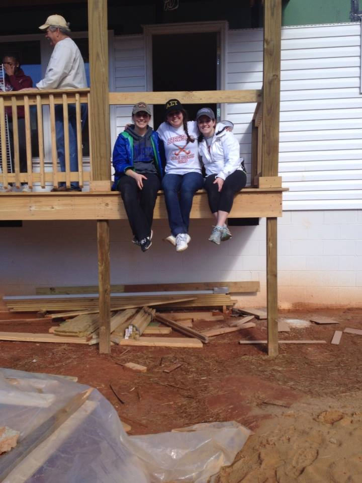 Habitat for Humanity Alternative Spring Break – Clemson, SC