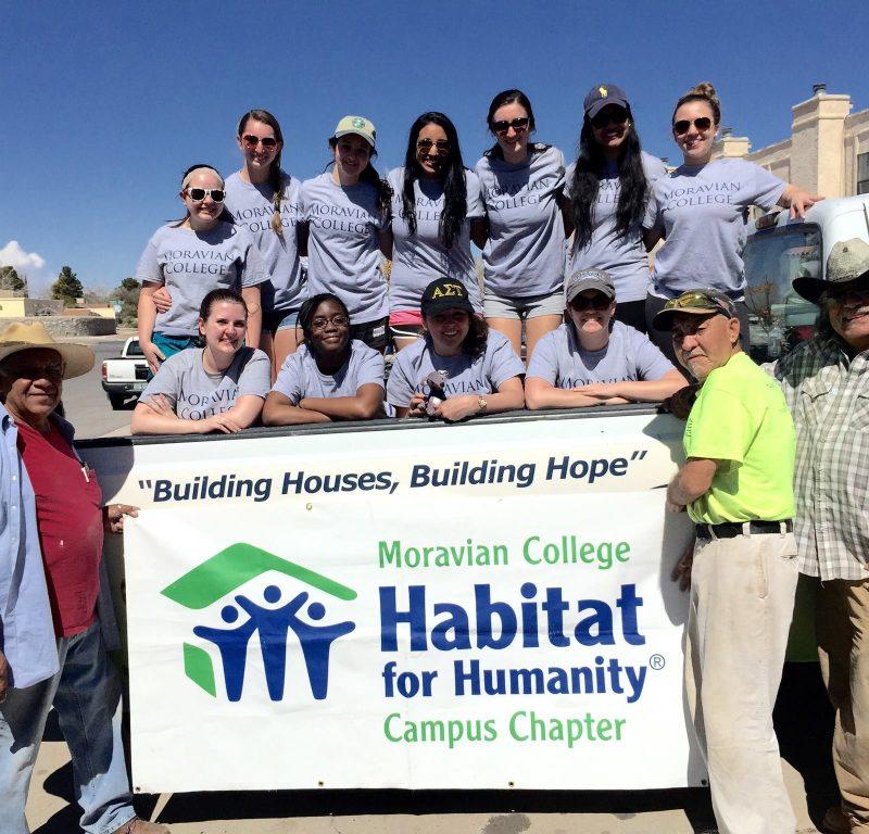 Habitat for Humanity Alternative Spring Break Team Leader- El Paso, TX